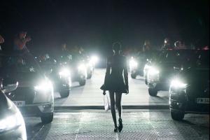 Модель на Тижні моди у Парижі, DS Automobiles